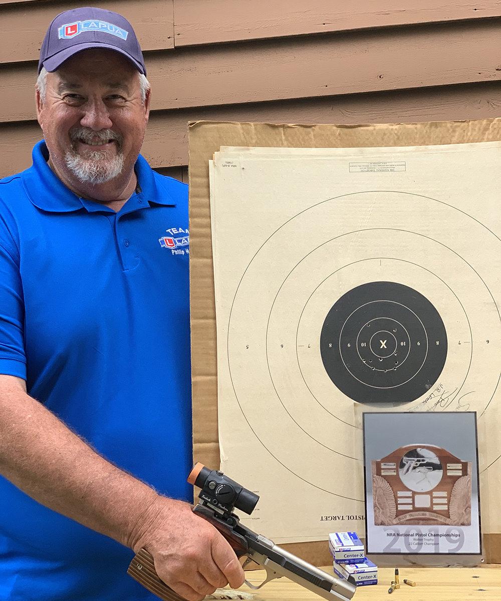 Philip Hemhill Wins NRA .22 Caliber Pistol Championship