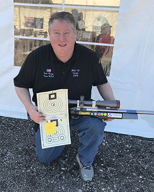 Jack Neary Sets New 200 Yard Benchrest Record