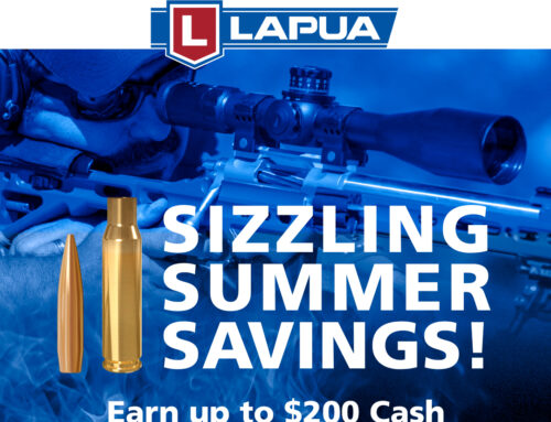 Lapua Launches $200 Consumer Rebate