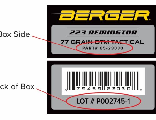 Berger Issues Safety Notice for 223 Remington 77 Grain OTM Tactical Ammunition Lot 2745